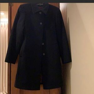 Anne Klein wool overcoat